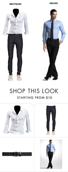 """""""Untitled #553"""" by stylecoach05 on Polyvore featuring G-Star, Shinola, men's fashion and menswear"""