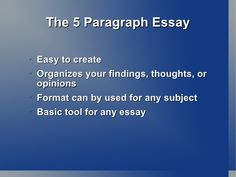 thesis statement journal