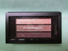 MAC COSMETICS Veluxe Pearlfusion Eyeshadow Trio - Collective Chic $25 available @ stores.ebay.com/kleeneique
