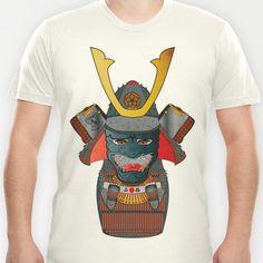 Samurai Matryoshka/Nesting Doll T-shirt