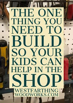 If you want to encourage your little woodworkers to join you in the shop, then this project (with compelte instructions) is the one you need to make. Woodworking Tutorials, Woodworking Books, Ring Making, Learning Tower, Brad Nails, How To Make Rings, Kitchen Helper, Wood Rings, Wood Screws