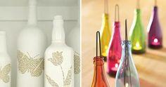 artesanato garrafas