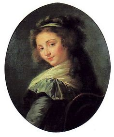 Page: German opera singer Elisabeth Mara  Artist: Louise Elisabeth Vigee Le Brun  Style: Rococo  Genre: portrait