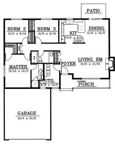 House Plan No.233119 House Plans by WestHomePlanners.com