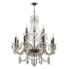 Crystorama Barrymore 19919 Chandelier - 9919-CH-CL-MWP