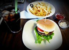 %100 dana eti hamburger menümüz! :)