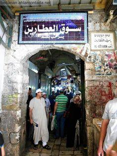 Jerusalem Market -Palestine