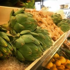 How stunning these artichokes are - look how luscious they are - in Singapore poking around enjoying produce and menus and new inspirations Nut Free, Dairy Free, Cooking Tips, Cooking Recipes, Artichokes, Clean Eating Recipes, Free Food, Whole Food Recipes, Health And Wellness