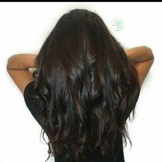 Hair inspiration brown