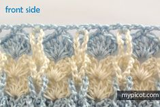 This is an interesting and nice stitch pattern: the Chevron Retro Stitch Wave Crochet pattern which I'm sure you guys would like to know how it is done. This lace chevron stitch is easy to make and is perfect for shawls and blankets. Crochet Baby, Free Crochet, Crotchet Blanket, Crochet Stitches Patterns, Stitch Patterns, Tear, Loom Knitting, Craft Patterns, Crochet Flowers