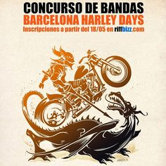 Barcelona Harley Days 2015 | Once again Barcelona is hosting Europe's biggest Harley-Davidson urban event: Harley Days 2015. Don't miss this fantastic three day festival packed with Harley-Davidson bikes, concerts, shows and many other activities that are free for all to visit.
