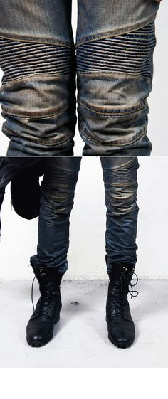 Not a huge fan of the boots, but how cool are these jeans??