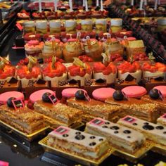 French pastries. Bayonne, France