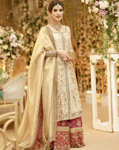 Click Visit link above for more info Pakistani Bridal Wear, Pakistani Dress Design, Pakistani Wedding Dresses, Pakistani Outfits, Indian Outfits, Pakistani Couture, Shadi Dresses, Indian Dresses, Traditional Fashion