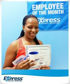 "Thabisile Thwala has been nominated for the ""Express Richards Bay Employee of the Month"" in the Administration Category for February 2015. She has been temping for Express since April 2013 with various clients and has been an outstanding candidate. She has received excellent progress reports and we would like to thank her for her hard work and commitment in representing our company so well Progress Report, February 2015, Hard Work, Blog, Blogging"