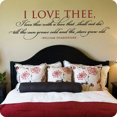 This website has a TON of different wall quotes you can buy and put in your home. I plan on stealing their ideas and doing DIY projects ;)