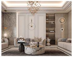 Home Interior, Interior Design Living Room, Living Room Designs, Neoclassical Interior Design, Luxury Interior Design, Modern Classic Interior, Modern Classic Bedroom, Classic Living Room, Home Room Design
