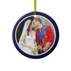 Royal Wedding Christmas Tree Ornaments