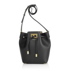 Michael Kors Collection Miranda MD Bucket Bag Black Gutschein Umfrage bei Fashionette