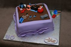 Keep fit cake | Flickr - Photo Sharing!