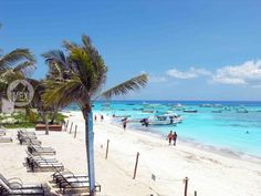 Coco Beach one of the best beaches in Playa del Carmen