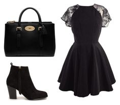 """""""Untitled #3"""" by nadya-luneva on Polyvore featuring beauty, Nly Shoes and Mulberry"""