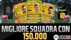 FIFA 14 - La migliore squadra con 150k - BUNDESLIGA