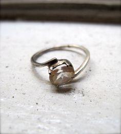 Cinderella Oval Citrine Ring