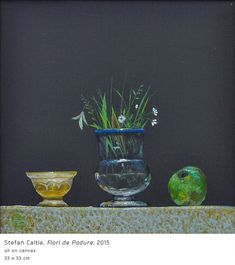 #16 Flori de Padure Forest Flowers, Modern Art, Contemporary, Painting Still Life, Art Pictures, Decorative Bowls, Glass Vase, Planter Pots, Traditional