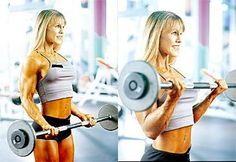 biceps workout women can do