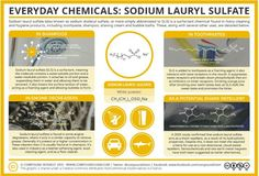 The third of the 'Everyday Compounds' series of infographics looks at sodium lauryl sulfate – a compound the majority of us encounter in our showers every day. Ap Chemistry, Organic Chemistry, Chemistry Projects, Chemical Science, Organic Molecules, Science Lessons, Science Notes, Shaving Cream, Abstract
