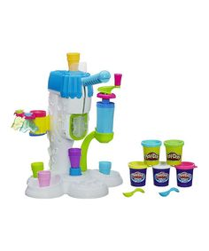 Look at this Play-Doh 15-Piece Perfect Twist Ice Cream Set on #zulily today!