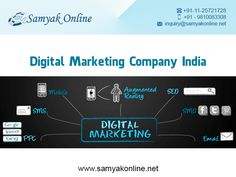 Samyak Online is well known digital marketing company located in Delhi India,   offerd digital marketing services at affordable rates. If you are looking for something new and different Samyak Onlinr should be your first choice.