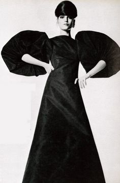 1968 Madame Gres. Vogue Italia.