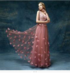 Imported vestido de Festa Rosa Empoeirado Jantar Ocasião Especial Até O Chão Elegante Do Laço Vestidos de Noite 2016 Nova Chegada Vestidos Formais em Vestidos de noite de Casamentos & Eventos no AliExpress.com | Alibaba Group