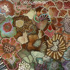 Dot Painting, Painting & Drawing, Organic Art, Tangle Art, Flower Doodles, Indigenous Art, Leaf Art, Aboriginal Art, Art Design