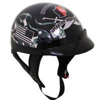 Check out T-70 Afghanistan Veteran Half Helmet on LeatherUp.com!