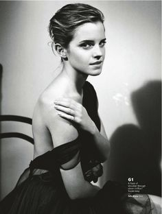 it's cool to be a drama queen: emma watson by vincent peters for uk glamour