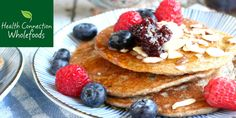 I have been working for a while on a simple gluten-free, dairy-free pancake recipe that could serve as the perfect base for adaptations.