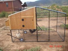$500 Portable Electrically Wired Chicken Coop