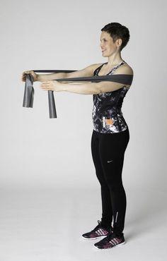 Kuminauhajumppa - Liikettä yläselälle! | Selkäkanava Pilates, Fitness Tips, Sporty, Exercise, Gym, Workout, Health, Training, Decor