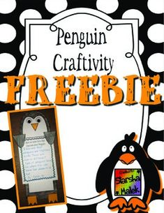 This penguin craftivity set is a super fun way to get your students to show off their creative writing skills!   This Set Includes: 1 Penguin Template 2 Writing Sheets  Thanks for downloading! I hope you enjoy this freebie! Please leave feedback, it is greatly appreciated.