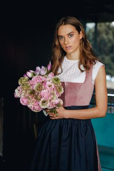 Ludwig Therese, Beautiful Gowns, Female Characters, Neue Trends, Austria, Core, Flower Girl Dresses, Cottage, Traditional