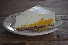 Mango yoghurt taart - Uit de pan van San