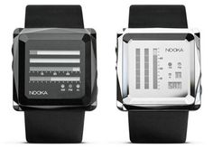 Nooka watches. Definitely a different type of watch. I like it though.