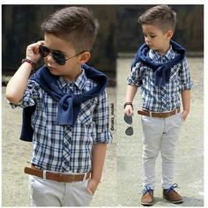 18 Trendy And Cute Toddler Boy Outfits Fashion Kids, Toddler Boy Fashion, Little Boy Fashion, Toddler Boy Outfits, Style Fashion, Outfits Niños, Kids Outfits, Little Boy Hairstyles, Toddler Boy Haircuts