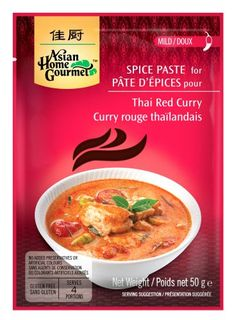 Sampling opportunity: Asian Home Gourmet spice paste for your home-cooked meals! Thai Recipes, Asian Recipes, Gourmet Recipes, Asian Foods, Vegetarian Recipes, Asian Home Gourmet, Recipe Adjuster, Gourmet Food Store, Nutrition Drinks