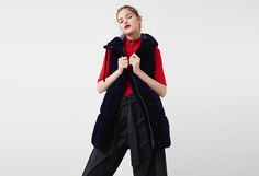 Latest trends in women's fashion. Discover our designs: dresses, tops, jeans, coats and shirts. Velvet Quilt, Funnel Neck, Drawstring Waist, Jeans, Latest Trends, Mango, Leather Jacket, Jackets, Shirts