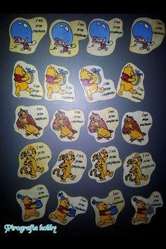 Calamite Winnie the Pooh Magnets Winnie the Pooh  #calamite #magnets #pooh #tigro #pimpi #personalizzato #surichiesta #order