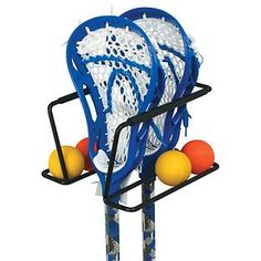 Racquet Lacrosse Sports Rack available at The Container Store. Handy organizer for lacrosse players! Lacrosse Sport, Lacrosse Gear, Lacrosse Quotes, Girls Lacrosse, Sport Rack, Sports Organization, Container Store, Container Cabin, Cargo Container